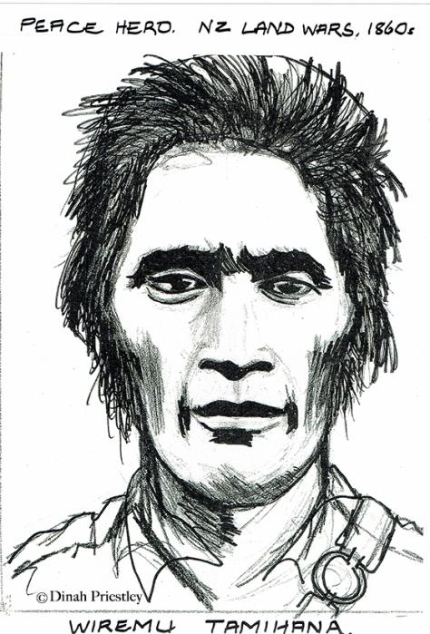 Wiremu Tamihana, NZ Peace Hero copy